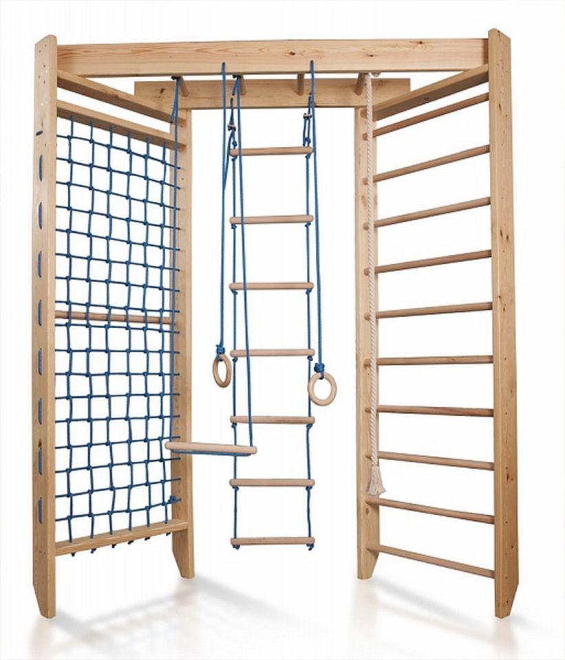 Kletterwand Kinderzimmer | Kinder Kletterwand Fun Wall 4 240 Sprossenwand Turnwand Fitness