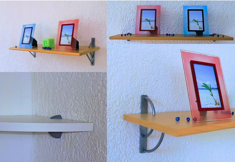 wand regal pure gr e farbe w hlbar mit alu clip. Black Bedroom Furniture Sets. Home Design Ideas