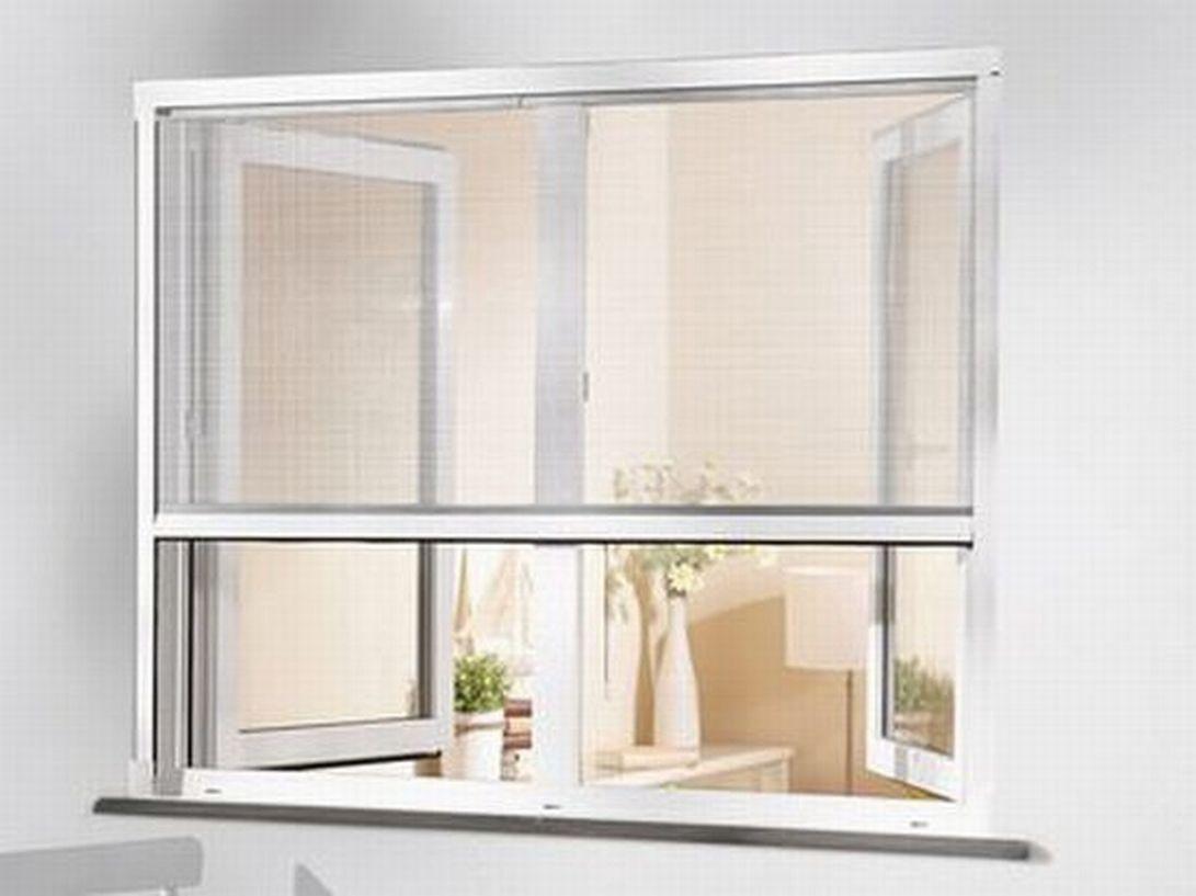 alu insekten schutz fenster rollo wei 160x130. Black Bedroom Furniture Sets. Home Design Ideas